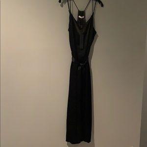 Halston Heritage Dresses - Halston Black Satin Dress